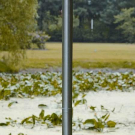 """Fackel """"Big Apple"""" aus Edelstahl, Ø 20 cm"""
