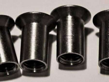 Rundmutter-Set B, Schlitz, 6 Stück, M 8 x 20 mm