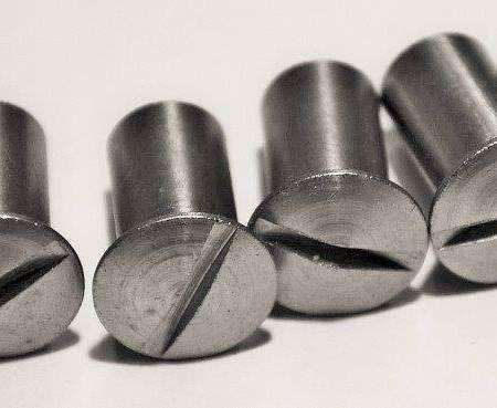 Rundmutter-Set A, Schlitz, 6 Stück, M 6 x 15 mm