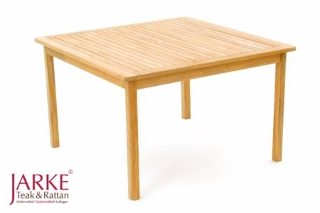 """Teak Tisch """"Hampton"""" 120 x 120 cm"""