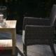 Outdoor Stuhl Calista Grau