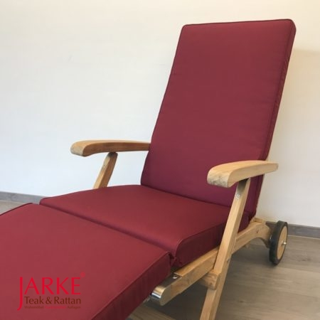 Deckchairauflage Keder Rot