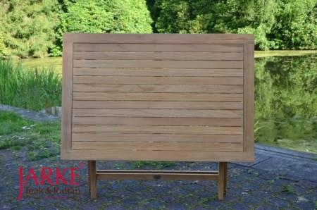 Teak Klapptisch Premium 120 x 80 cm