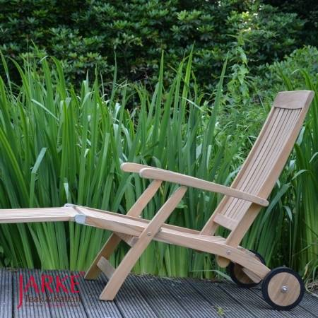 Teak Deckchair Premium Alster