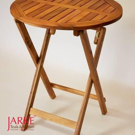 Akazienholz Beistelltisch rund