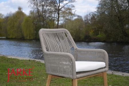 Outdoor Stuhl Paxton Taupe