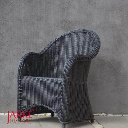 Outdoor Ohren Sessel Reva, schwarz