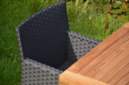 Outdoor Stuhl Anthrazit