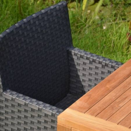 Outdoor Stuhl Anthrazit