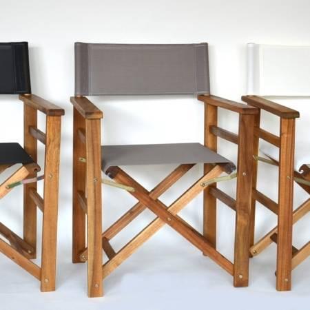 Hartholz & Akazienholz - Regiestühle und Tische