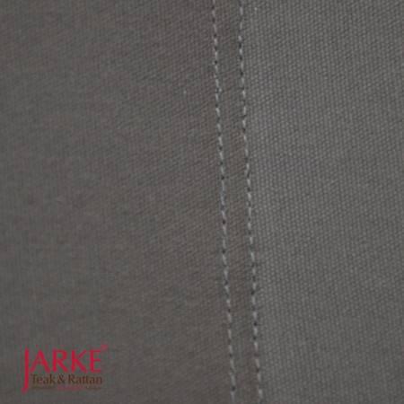 Ersatzstoff im Set: Sitz und Rückenfläche TexSilk Outdoorgewebe Grau