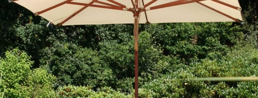 Sonnenschirm Natur 3 x 3 m
