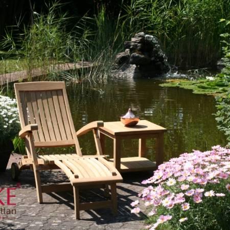 Teak Deckchairs/ Relaxstühle