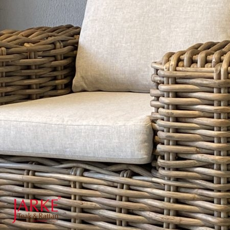 "Rattan-Set ""Boss"" Kubu Grey"