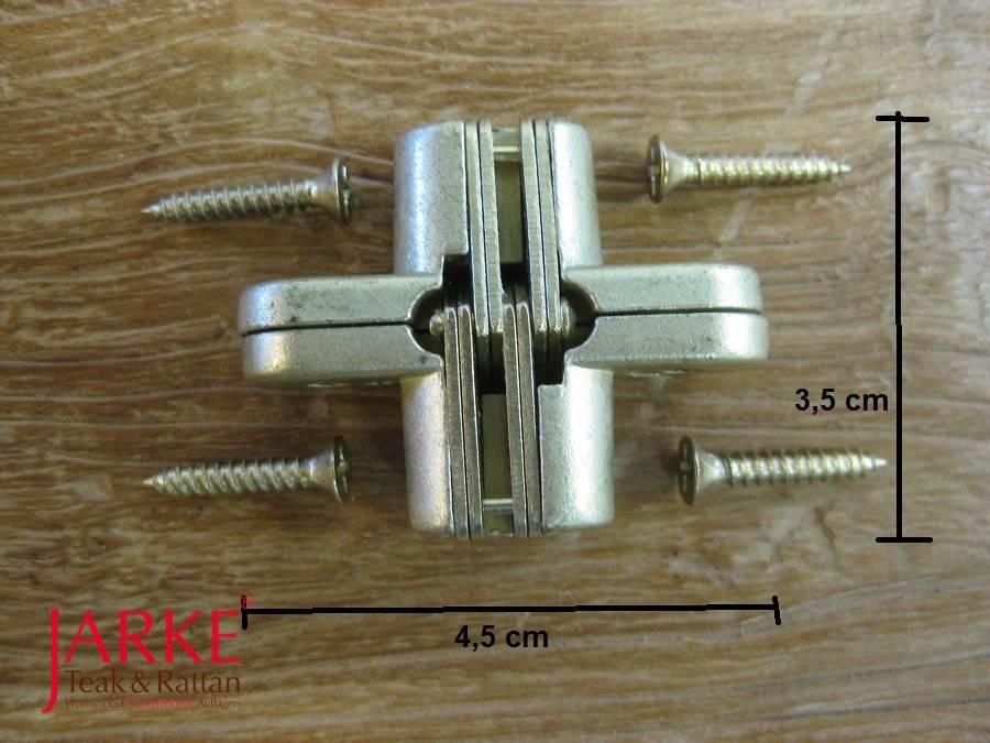 Klappscharnier Tischplatte.Klappscharnier Für Ausziehtische In Messing Optik