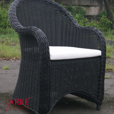 Outdoor Sessel Reva Schwarz