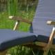 Teak Deckchair Elbe mit Auflage