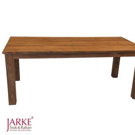 Teak tische mit dicken beinen 10 x 10 cm durchmesser for Tisch teak design