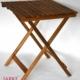 Akazienholz Picknick Tisch 64 x 48 cm