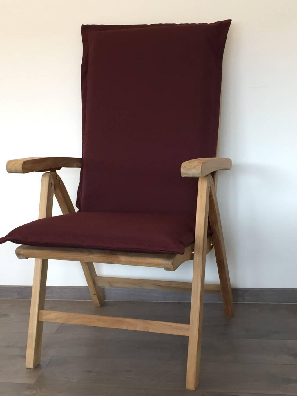 auflagen von jarke dick gepolstert in der farbe bordeaux mit rei verschluss in div farben. Black Bedroom Furniture Sets. Home Design Ideas